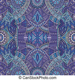 Abstract tribal ethnic seamless pattern - Abstract vector...