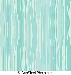 Abstract turquoise water waves seamless pattern