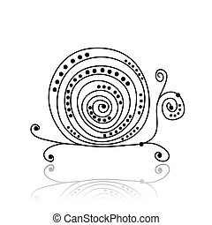 Abstract turtle design