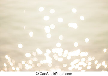 Abstract twinkled bright background with natural bokeh defocused white lights. Holiday party background