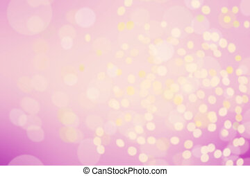 Abstract twinkled bright background with natural bokeh defocused white lights.