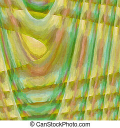 Abstract twisted background