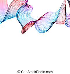 abstract twisted waves - abstract colorful twisted waves