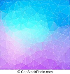 Abstract Two-dimensional  colorful background for web design