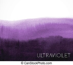 Abstract ultraviolet purple grunge background. Color of the...