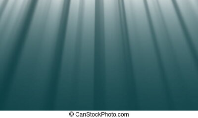 abstract underwater background with rays