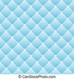 Abstract upholstery on a blue background