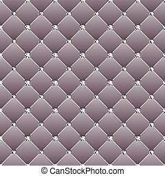 Abstract upholstery on a gray background