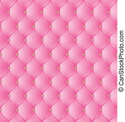 Abstract upholstery on a pink background. Vector