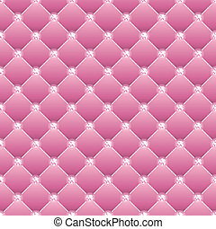 Abstract upholstery on a pink background. Vector. eps10