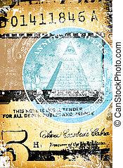 Abstract US dollar