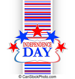 Abstract Usa independence background
