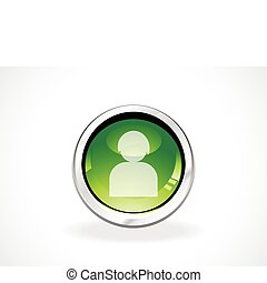 abstract user icon