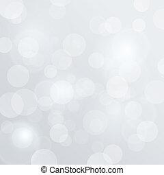 abstract, vaag, bokeh, vector, achtergrond, witte , gloed