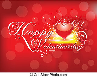 abstract valentine day card vector illustration