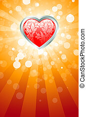 Abstract Valentines Day Background