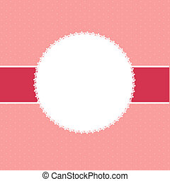 Abstract Valentine`s day background vector illustration