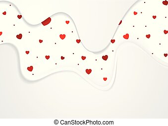 Abstract Valentines Day greeting card background