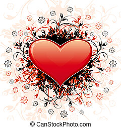 Abstract Valentine\'s Day Heart