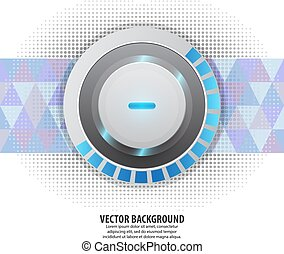 abstract, vector, achtergrond, concept, technologie