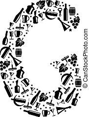 Abstract vector alphabet - G