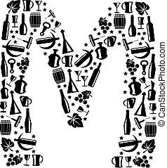 Abstract vector alphabet - M
