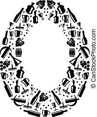 Abstract vector alphabet - O