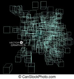 abstract vector architect