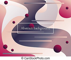 Abstract vector backdrop with gradients.