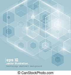Abstract vector background - Abstract technology background....