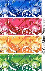 Abstract vector background cristmas