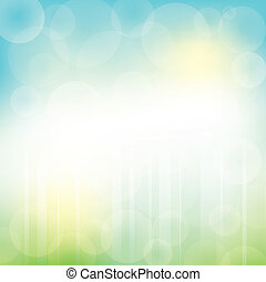 Abstract Vector Background - Abstract Green Blue Background...