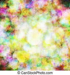 Abstract vector background eps10, colorful lights bubble.