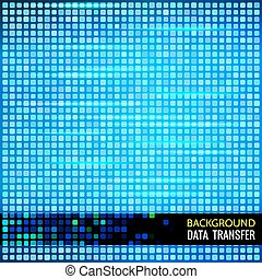 Abstract vector background for data theme