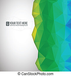 Abstract vector background for presentation