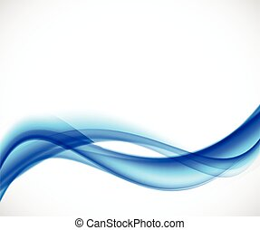 Abstract vector background in blue color. Flyer brochure...