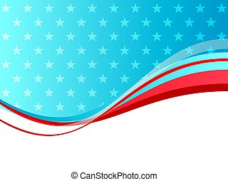 Abstract vector background Independence USA