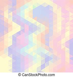 Abstract vector background made of triangle elements.