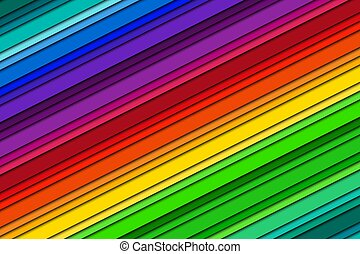 Abstract vector background, modern bright background with oblique lines, color spectrum, colorful striped pattern, vector illustration