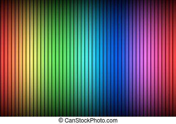 Abstract vector background, modern bright background with vertical lines, color spectrum