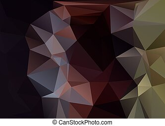 Abstract Vector Background Of Triangles Polygon Wallpaper Web