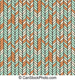 Abstract vector background seamless pattern