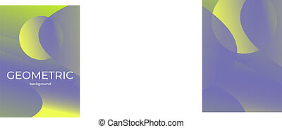 Abstract vector background. space desert