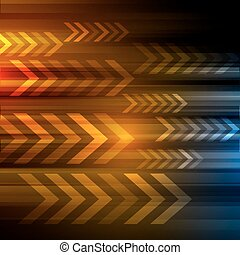 vector background with arrows