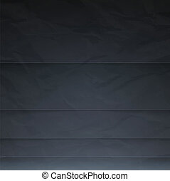 Abstract vector background with black paper layers