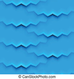 Abstract vector background with blue layers