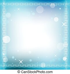 abstract vector  background with decorative frame - eps 10