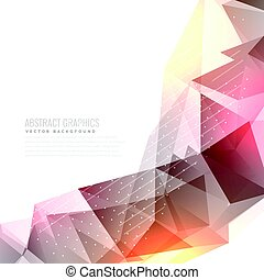 abstract vector background with light effect