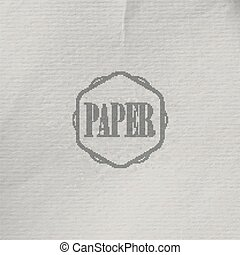 abstract vector background with old crumpled paper texture