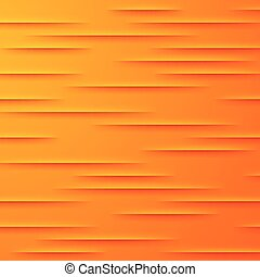 Abstract vector background with orange layers